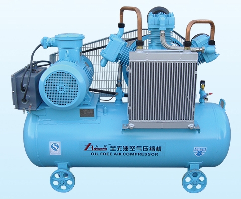 Explosion-proof oil-free air compressor