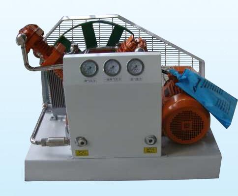 Gas recovery compressor